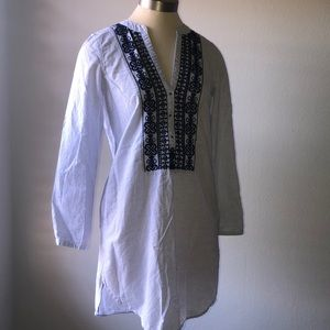 Navy striped tunic by H&M Label of Graded Goods.